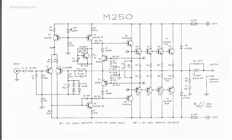 250 Volt Schematic Wiring Diagram by 250 Watt Lifier Schematic Circuits 250 Watt Lifier