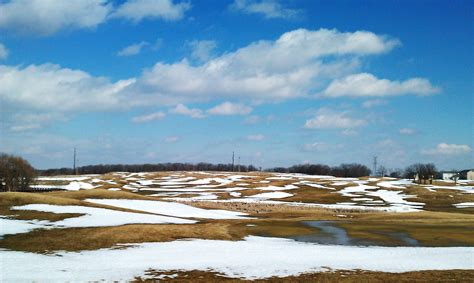 golf winter course territory stay shape