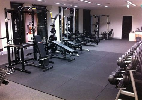 Garage Gym Flooring Options Ideas Gym Floor Tiles In