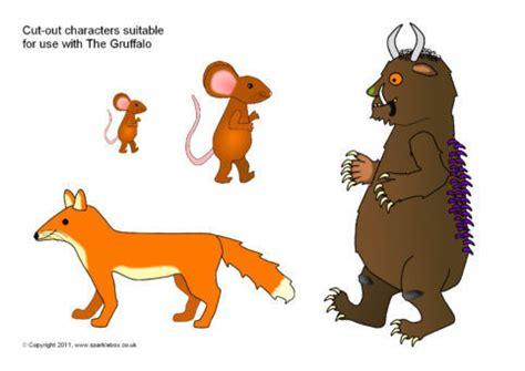 cut  characters suitable     gruffalo