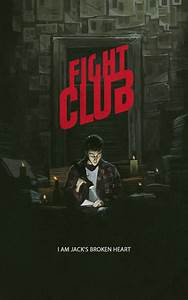 FIGHT CLUB poster by YURISHWEDOFF on DeviantArt