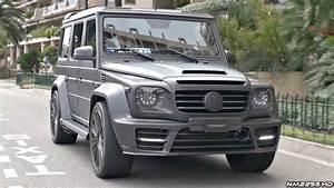 Loud Mercedes G Wagon Amgs Making Some Noise In Monaco