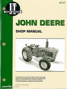 John Deere 1020 1520 1530 2020 2030 Tractor Workshop Manual