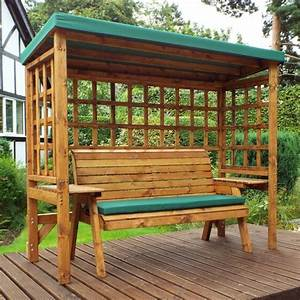 Charles Taylor Wooden Garden Wentworth 3 Seater Abour With