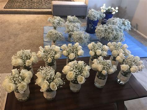diy wedding flowers beautiful costco roses  babys