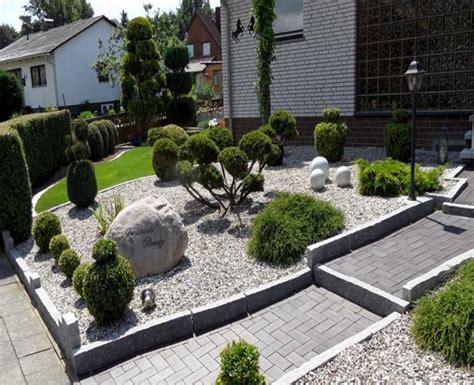 Moderne Vorgärten Mit Kies by Bilder Vorgarten Mit Steinen