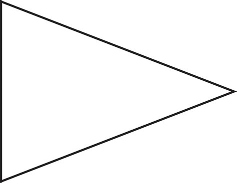 triangle banner template download triangle banner template clipart best
