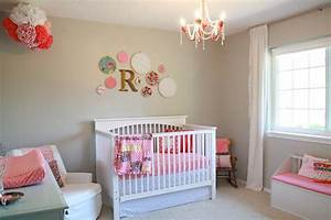 Bedroom 32 brilliant decorating ideas for small baby for Nursery room ideas for baby girl