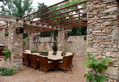 rustic patio covers decor awesome grape trellis decorating ideas