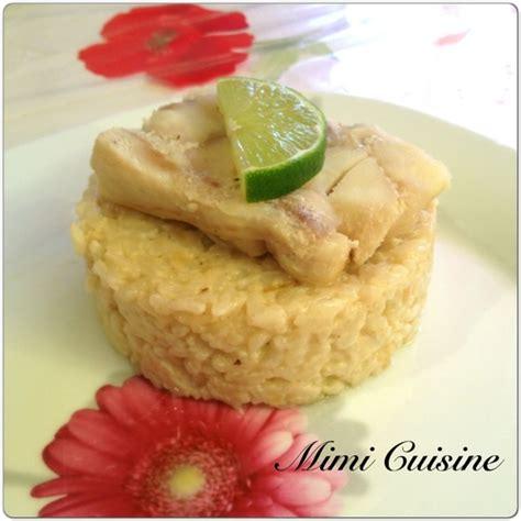 lait de coco cuisine risotto au lait de coco et cabillaud recette cookeo