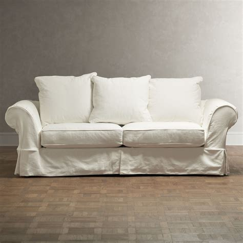 slipcovers that fit pottery barn sofas pottery barn sofa slipcover twill dropcloth slipcover