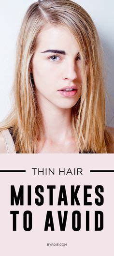 Best Hairstyles For Thin Hair by The One Mistake That S Ruining Your Thin Hair In 2019