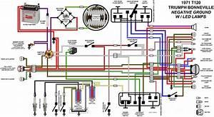 Wiring Diag   U0026 39 71 T120 Neg Grd Led Lights