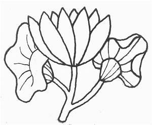 Dessin Fleurs De Lotus : coloriage fleur de lotus ~ Dode.kayakingforconservation.com Idées de Décoration