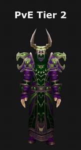 Transmogrification Warlock Pve Tier 2 Set  Wod 6 2