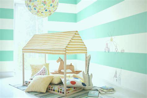 Wandfarbe Kinderzimmer Mädchen by Wandgestaltung Kinderzimmer Beispiele Parsvending