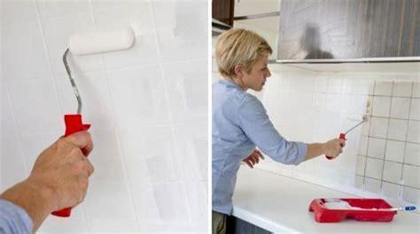 repeindre carrelage cuisine repeindre du carrelage mural et au sol comment faire