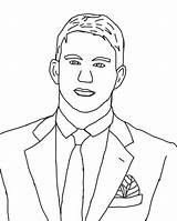 Coloring Pages Celebrity Singers Channing Tatum Famous Obama Barack Caricature Print Para Getdrawings Colorings Printable Dibujo Carly Getcolorings sketch template