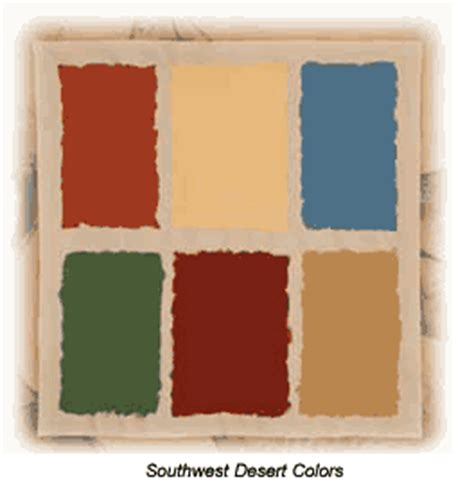 southwest color palette southwestern paint color schemes the southwest desert