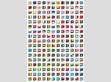 204 flags of the world stock vector Illustration of arms