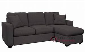 customize and personalize 702 chaise sectional fabric sofa With the stanton 702 chaise sectional sleeper sofa queen