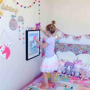 Unicorn Room Decor Bed - ARCH DSGN