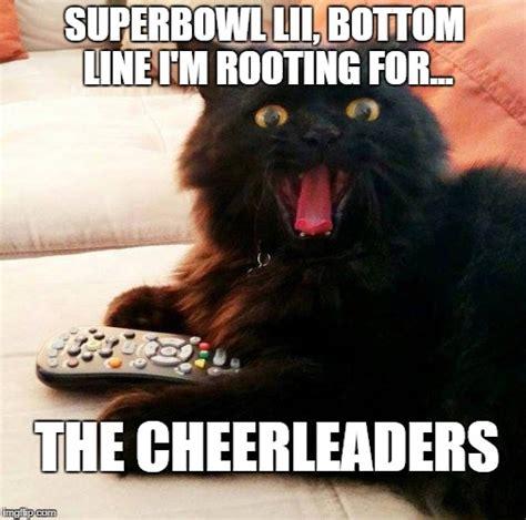 Football Cat Meme - oh boy cat on superbowl lii imgflip
