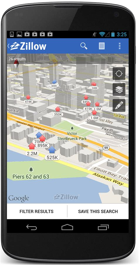zillow app for android android app goes 3d zillow releases updates to