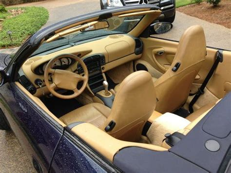 Sell Used Carrera Navy Blue With Savannah Beige Leather