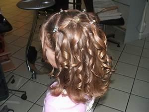 Coiffure Facile Pour Petite Fille : coiffure mariage pour enfant ~ Nature-et-papiers.com Idées de Décoration