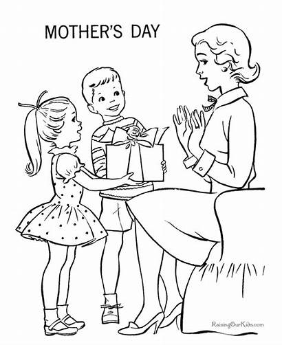 Mother Coloring Mothers Mom Printable Raising Children