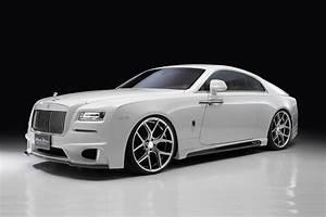 Rolls Royce Wraith : wald gives the rolls royce wraith a black bision treatment ~ Maxctalentgroup.com Avis de Voitures