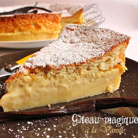 recette cuisine actuelle gateaux magique vanille