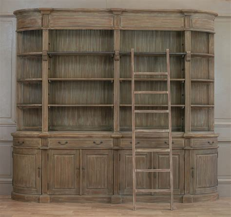 What Is A Bookcase by Aged Large Rivieren Bookcase With Ladder Furniture