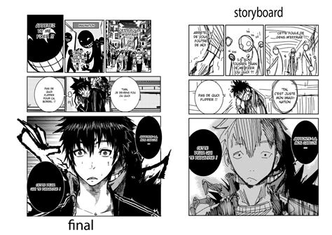 Storyboard Vs Final Page (agora V2) By Eliasuke On Deviantart