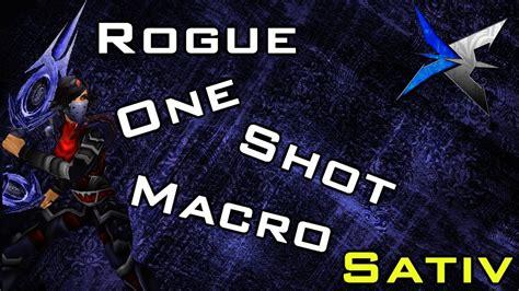 rogue wow macro shot