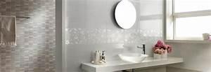 Faience Blanche Salle De Bain : tendance carrelage salle de bain avec faience blanche ~ Dailycaller-alerts.com Idées de Décoration