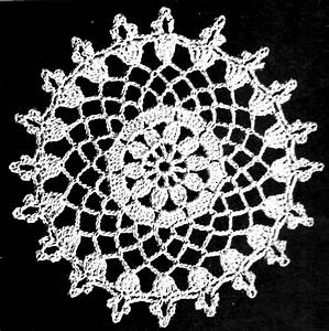 Young Love Lacy Openwork Crochet Tablecloth Pattern