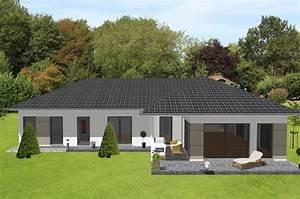 Einfamilienhaus 200 M2 : individuell geplant bungalow in modernem ambiente ~ Lizthompson.info Haus und Dekorationen
