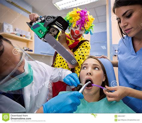 Dental Nightmare Stock Image. Image Of Joke, Background