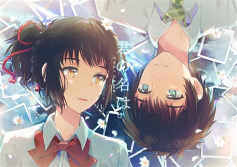 Anime Your Name Kimi No Na Wa Link 2016 Random Thoughts Kimi No Na Wa Your Name Image 2067568 Zerochan