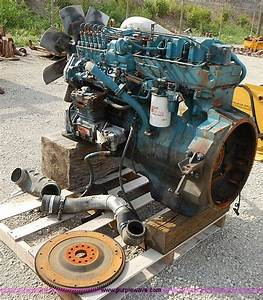 1991 International Navistar Dt466 7 6l L6 Diesel Engine
