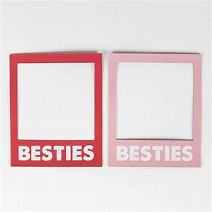 Besties Magnetic Polaroid Photo Frame