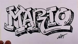 Graffiti Writing Mario Name Design #38 in 50 Names ...