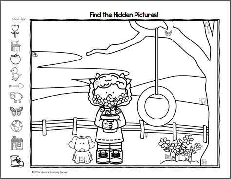 find it picture worksheets mamas learning 676 | Hid 3