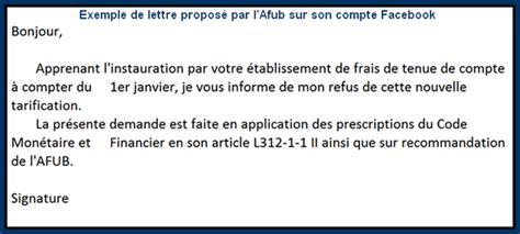 afub modele de lettre une association sugg 232 re de contester les frais de tenue de