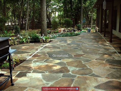 flat flagstone a few cheap ways to upgrade your outdoor space outdoor