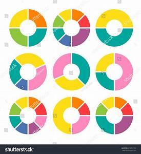 Vector Circle Arrows Infographic Template Diagram Stock