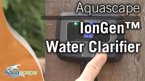 aquascape iongen aquascape s iongen water clarifier 2