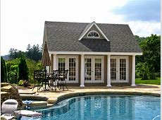 Pool Houses, Cabanas, Pool Sheds & Pool Side Bars